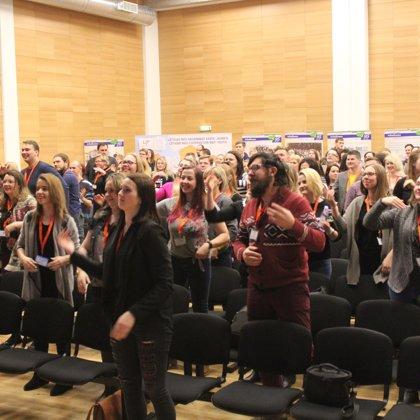 Aizkraukles jaunieši strukturētā dialoga konferencē Liepājā