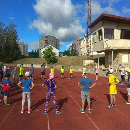 Sporta nodarbības 2018. gada jūlijs, augusts